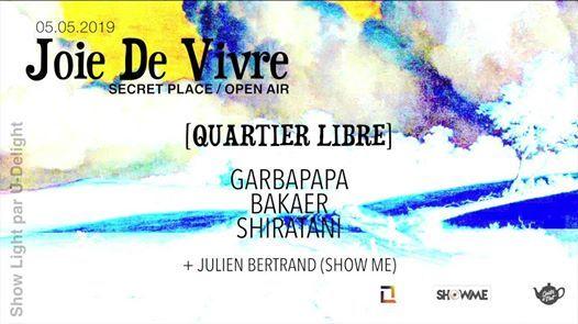 Show Me invite Gouter De Nuit & Quartier Libre : Joie De Vivre !