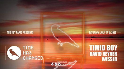 The Key x Time Has Changed: Timid Boy, David Reyner, Wisslr