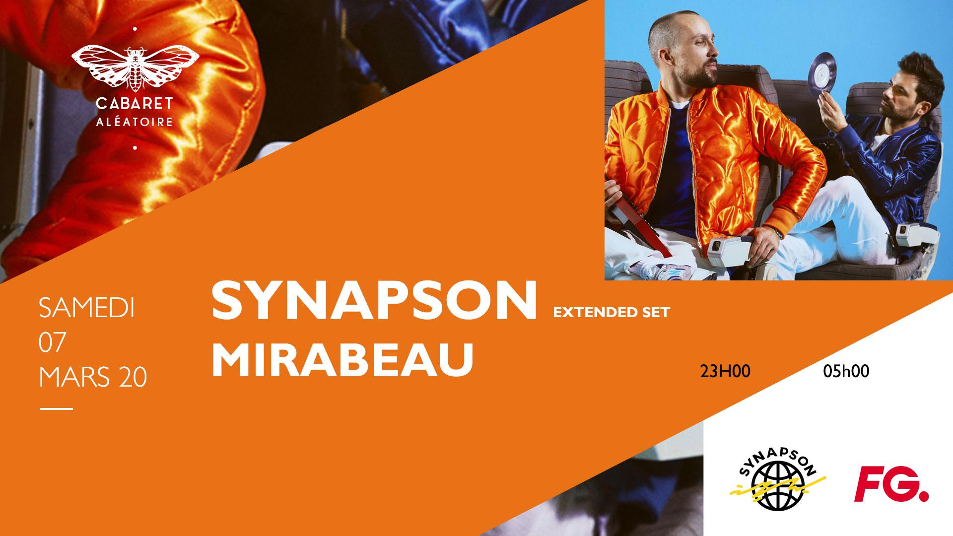 SYNAPSON [EXTENDED SET] + MIRABEAU