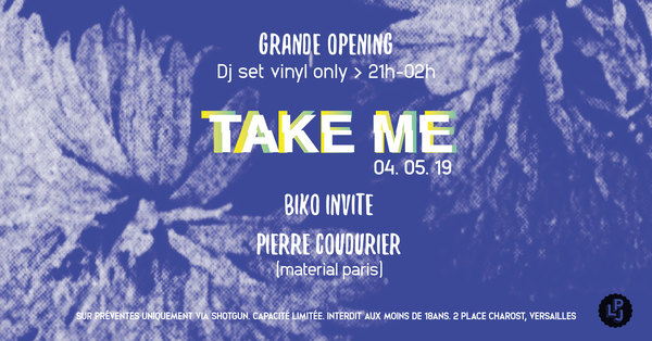TAKE ME #1 Biko invite Pierre Coudurier