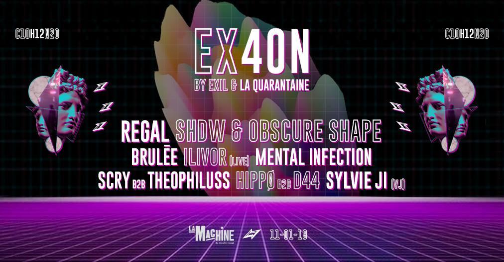 EX40N #1 : Antidote Mécanique