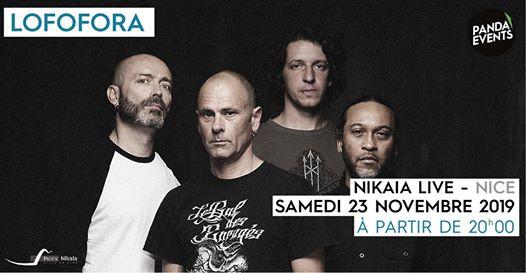 Lofofora + Darktribe · 23 novembre · Nikaia Live · Nice