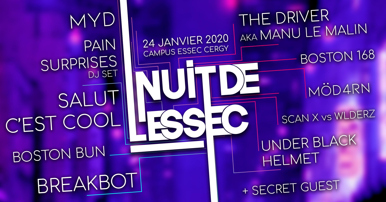 Nuit de l'ESSEC 2020