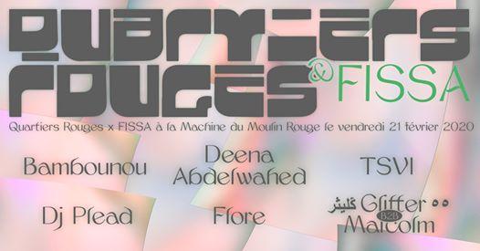 Quartiers Rouges x Fissa : Bambounou, Deena Abdelwahed, TSVI