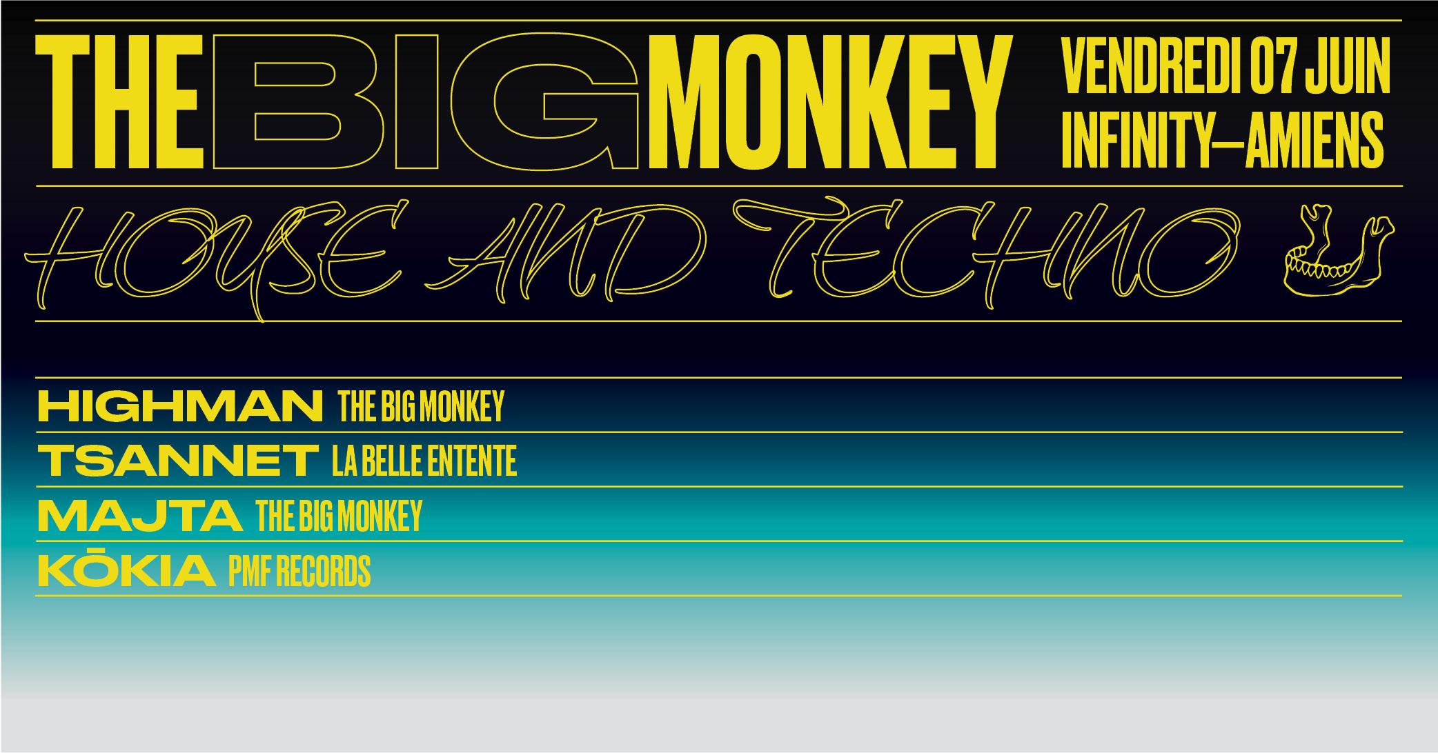 Infinity // The Big Monkey & Co