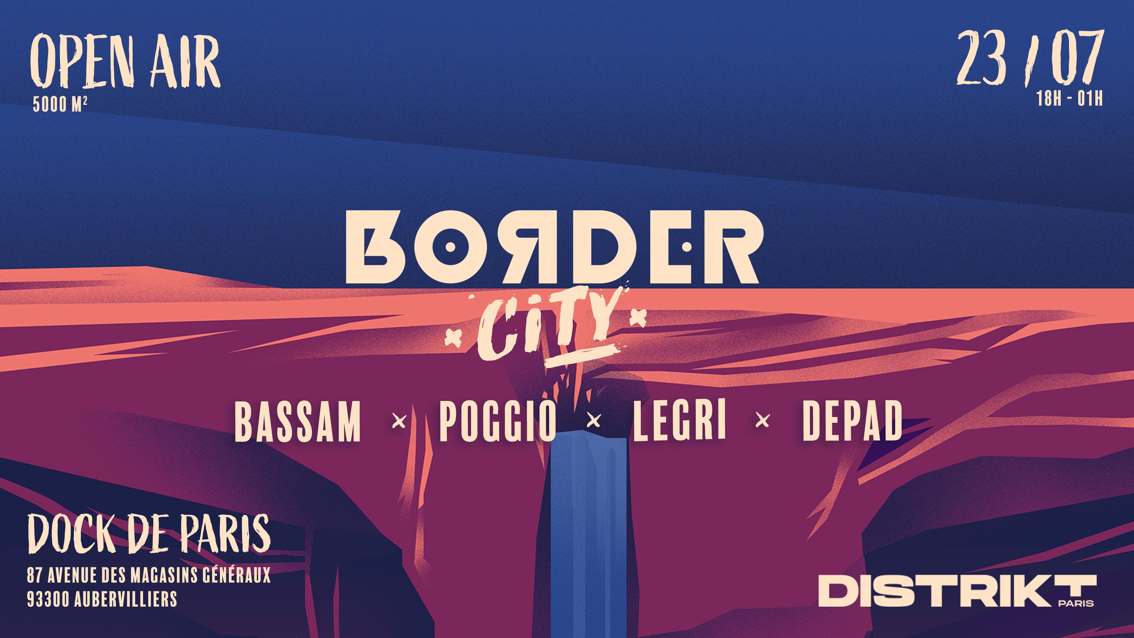 Border City x Distrikt Paris