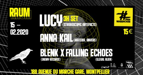 Lucy, Anna Kail, Blenk x Falling Echoes at Dieze Warehouse