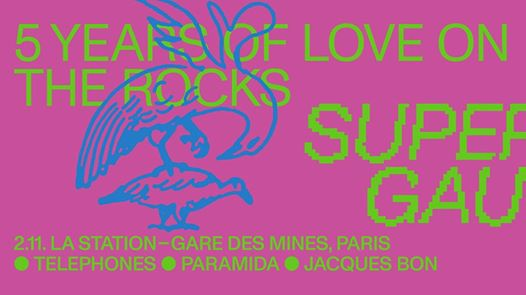 5 Years of Love On The Rocks X La Station