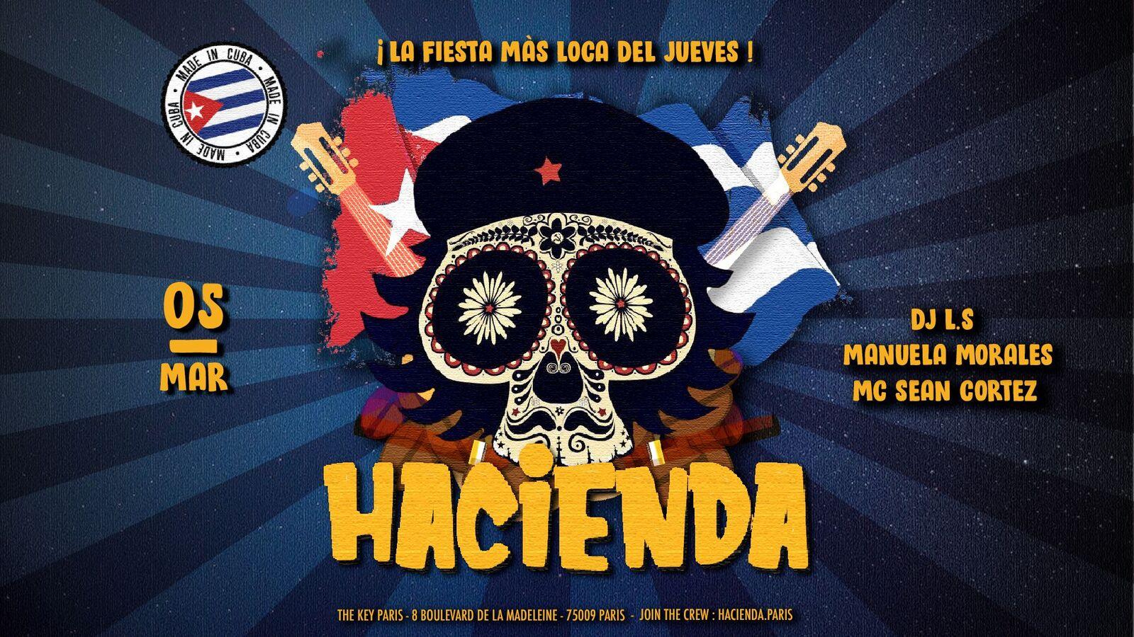 Hacienda ᚕ Edición Cuba ᚕ Jueves 5 de Marzo