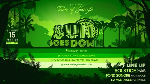 TRIBE OF JUNGLE ---  SOLSTICE/FOND SONORE/LIA MONTAIGNE By La Sun Goes Down