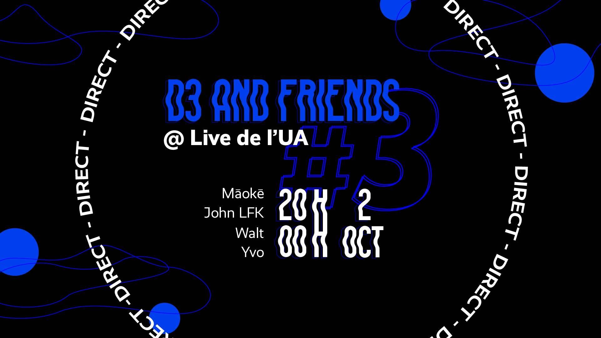 D3 and friends @Live de L'UA | Angers 🇫🇷
