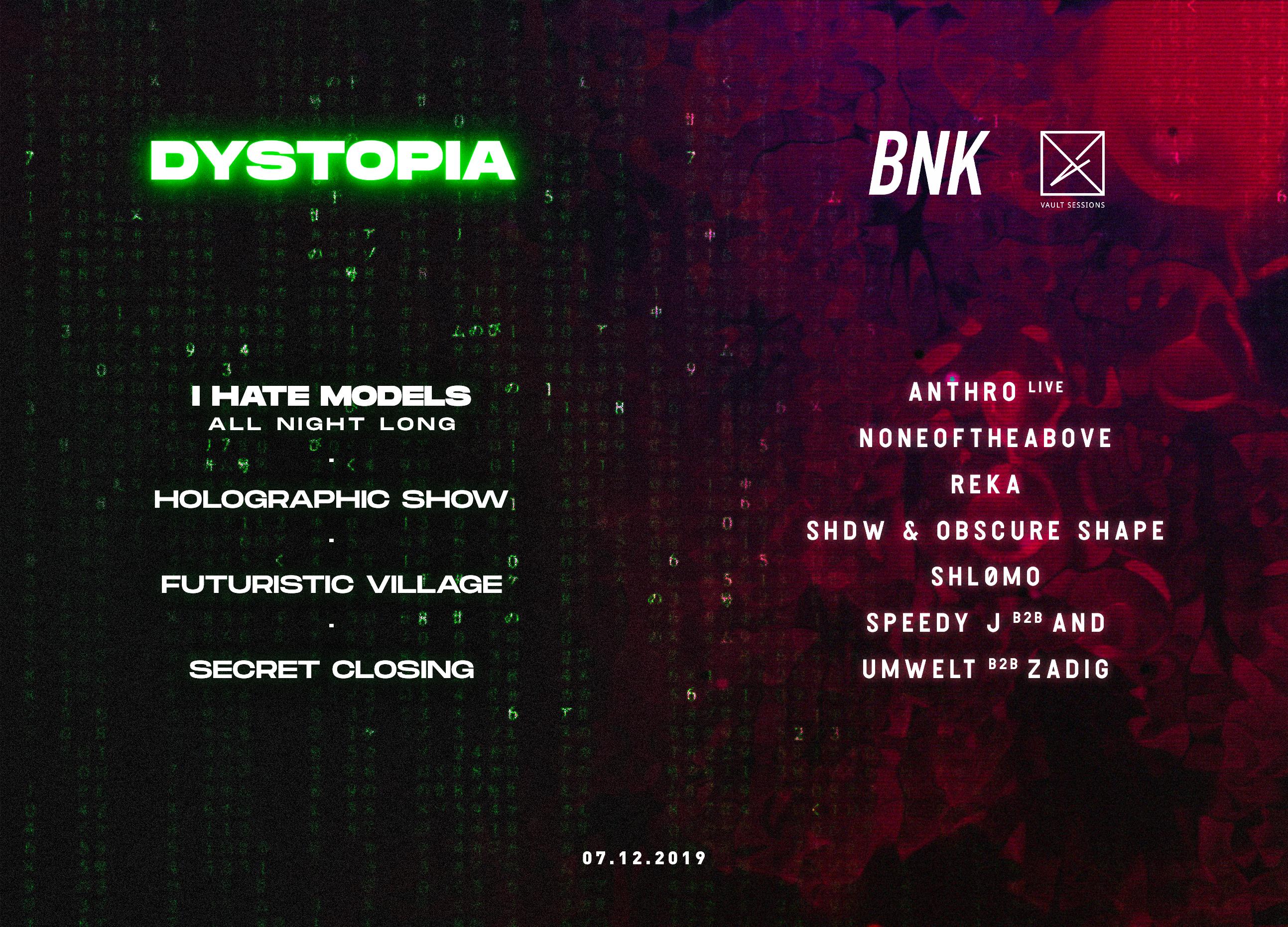 Dystopia x BNK x Vault Sessions