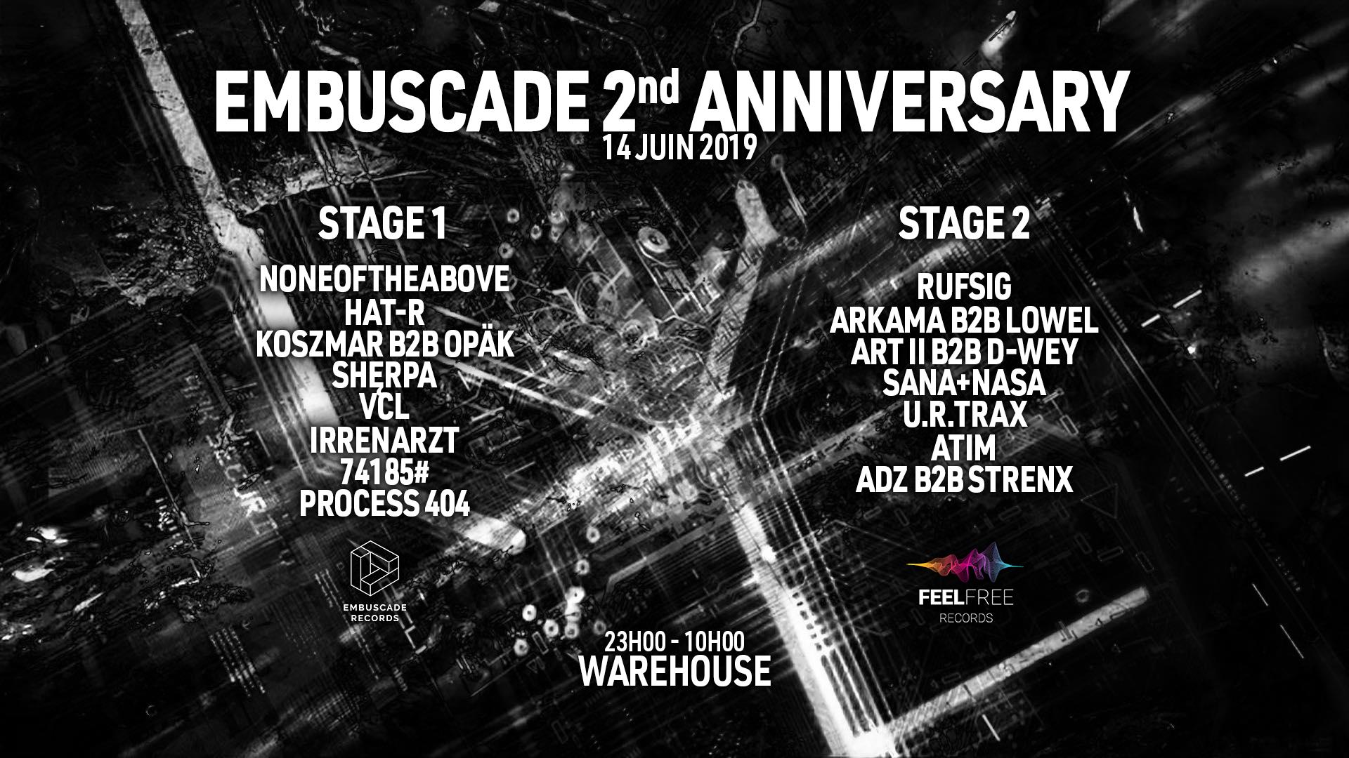 EMBUSCADE 2nd ANNIVERSARY