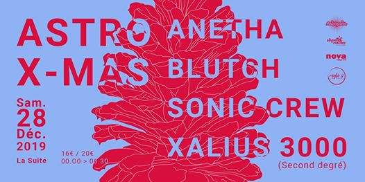 Astro X-Mas w/ Anetha, Blutch, Sonic Crew, Xalius 3000