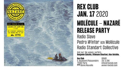 Molécule - Nazaré Release Party: Radio Slave, Pedro Winter &more