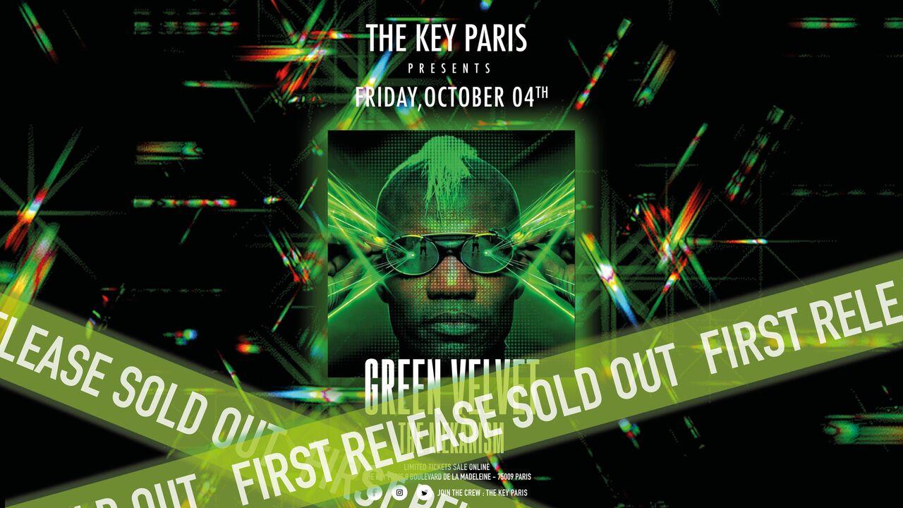 The Key Paris presents: Green Velvet All Night Long