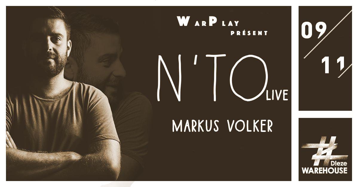 Warplay #1 w/ N'TO live, Markus Volker & More