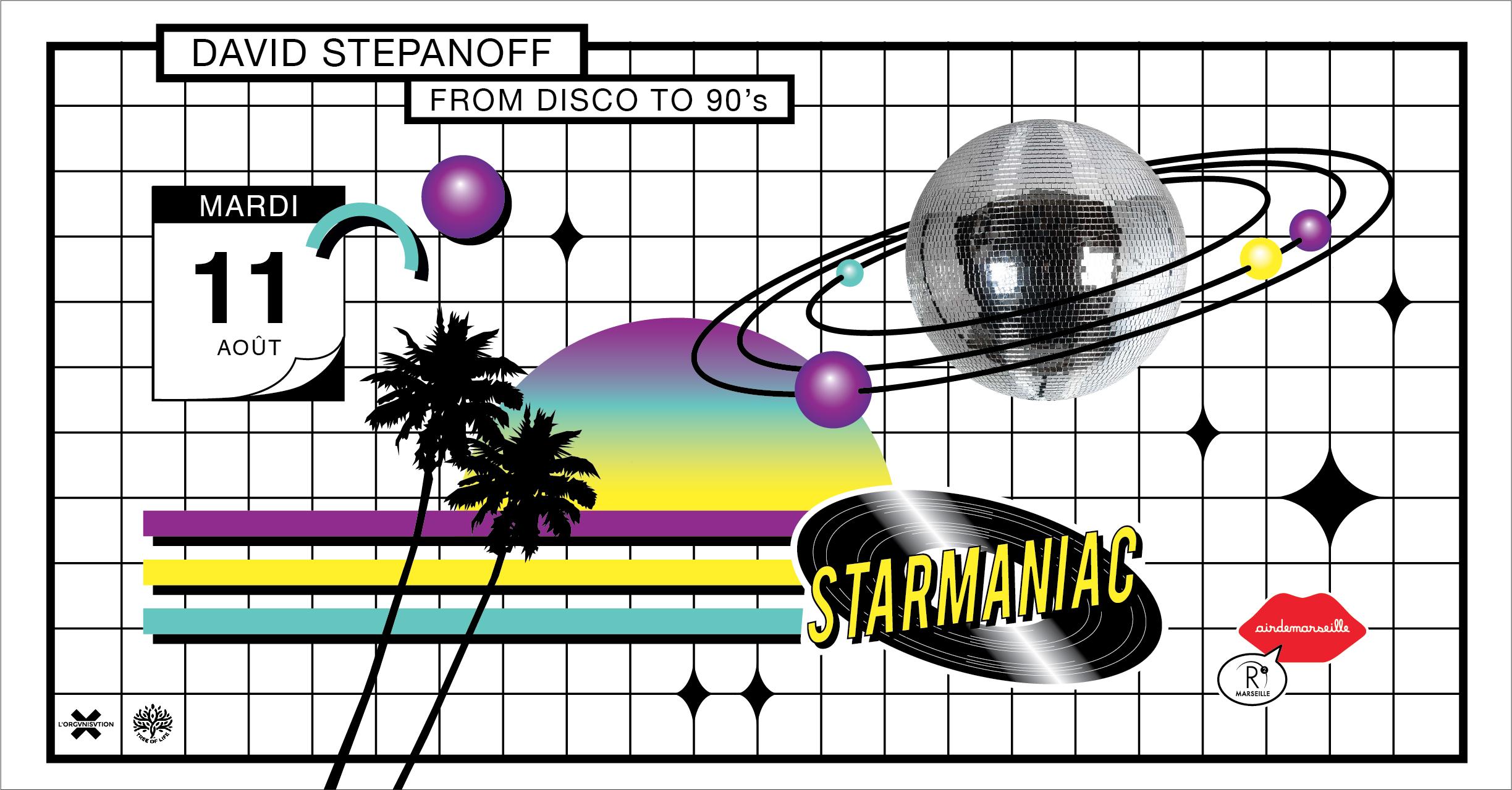 R2 x STARMANIAC from DISCO TO 90's