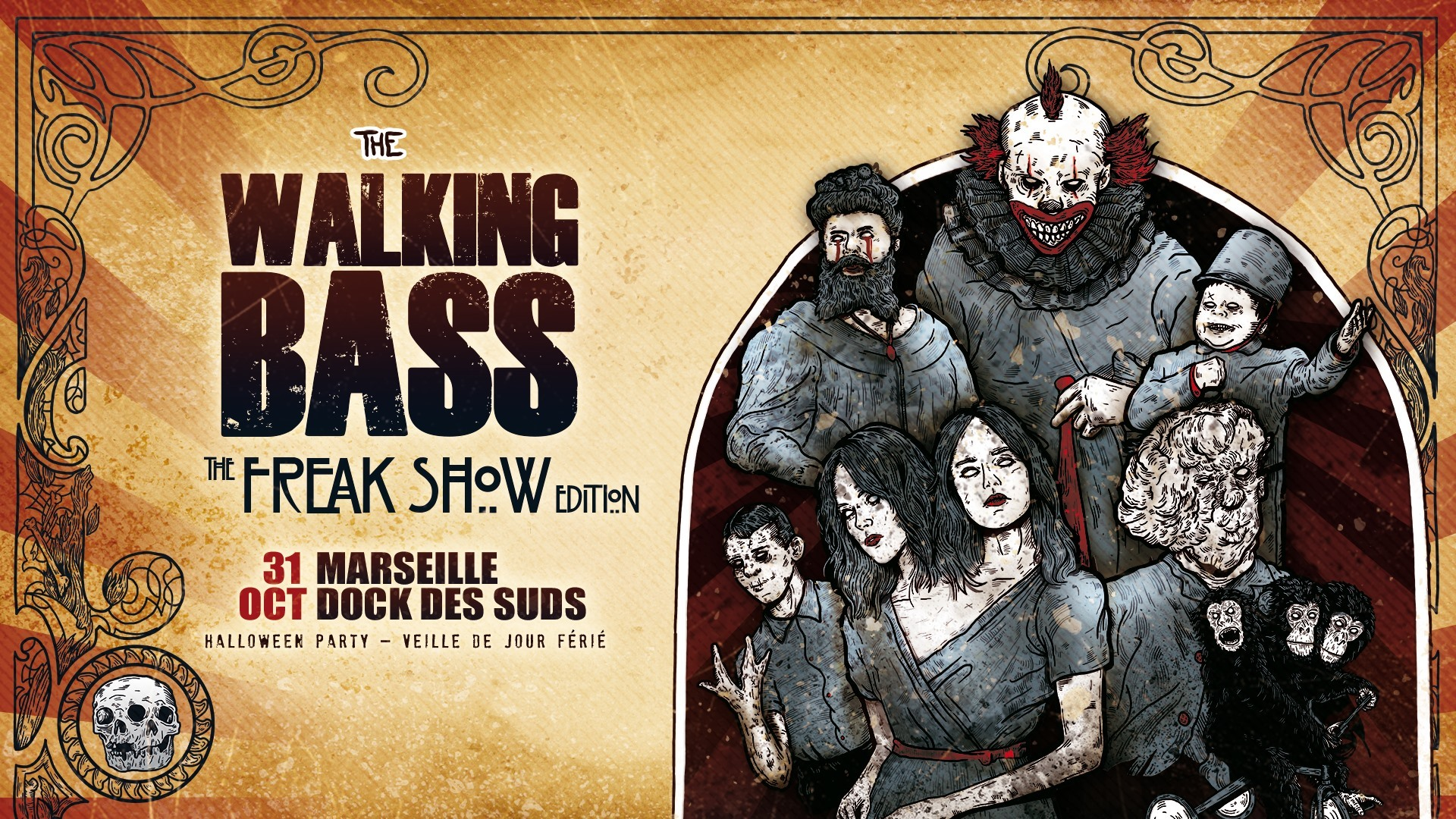 The Walking Bass Festival : The Freak Show Edition