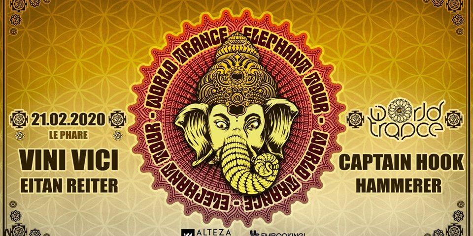 World Trance - Elephant Tour w/ Vini Vici & Captain hook