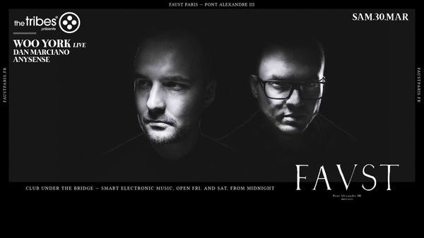 Faust — The Tribes : Woo York (Live), Dan Marciano, Anysense
