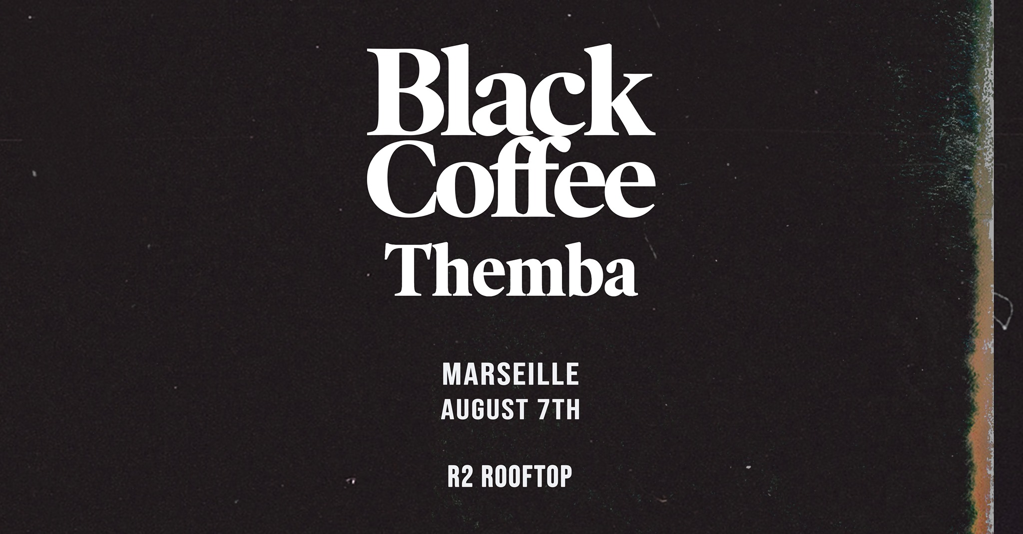 R2 Rooftop • Tunnel Of Love • Black Coffee