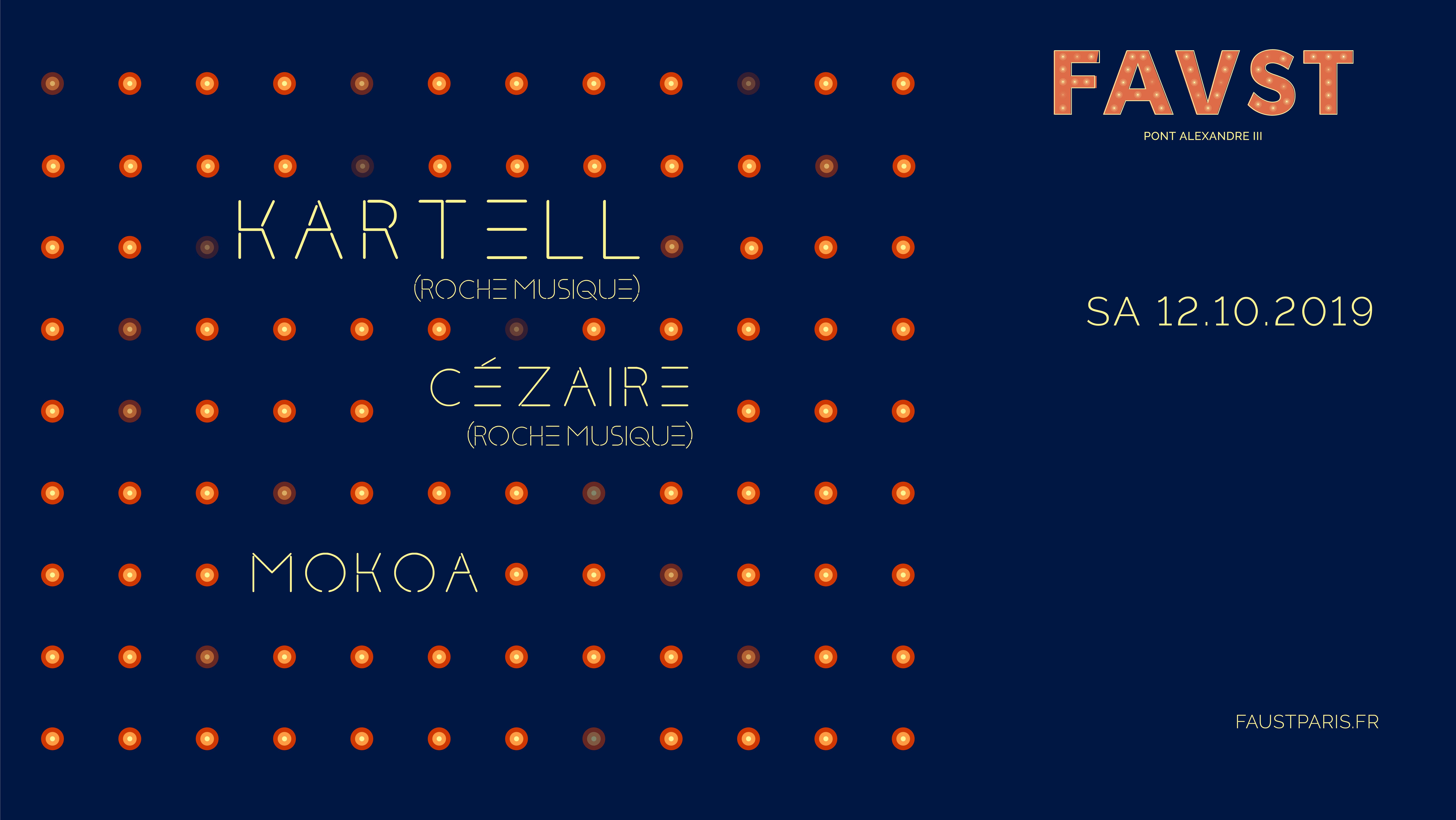 Faust: Kartell, Cézaire et Mokoa