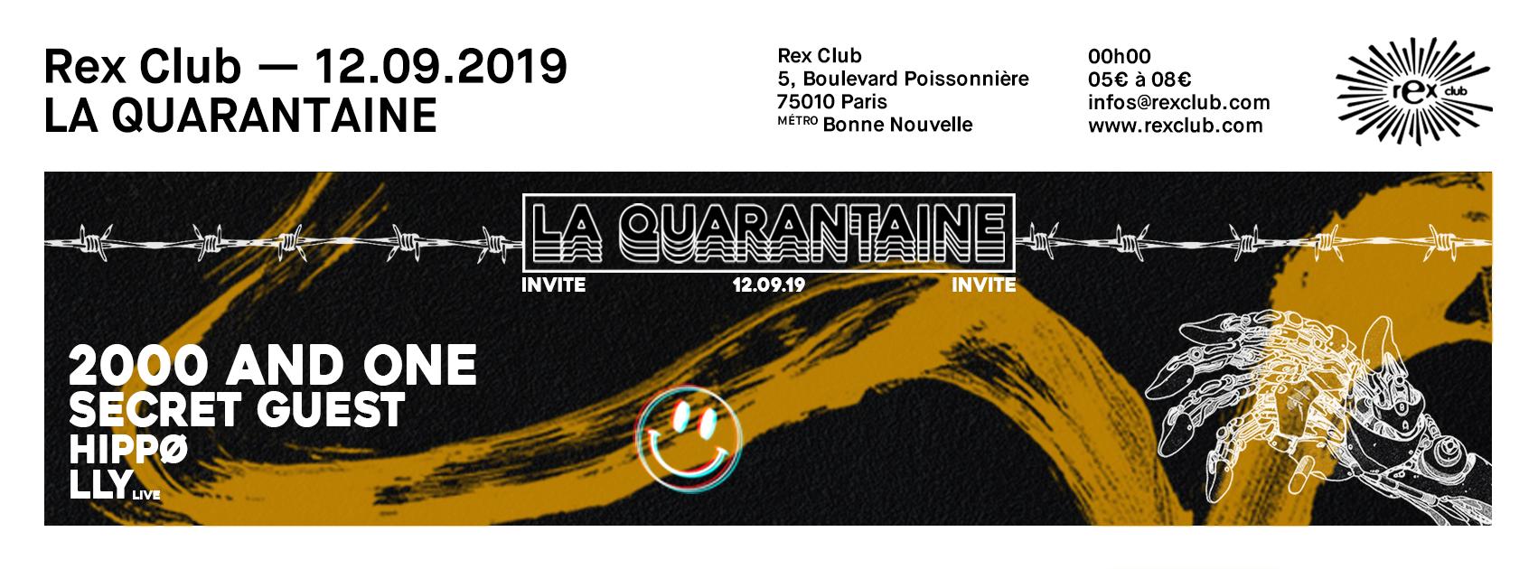 La Quarantaine Invite: 2000 and One, Hippø, LLY Live