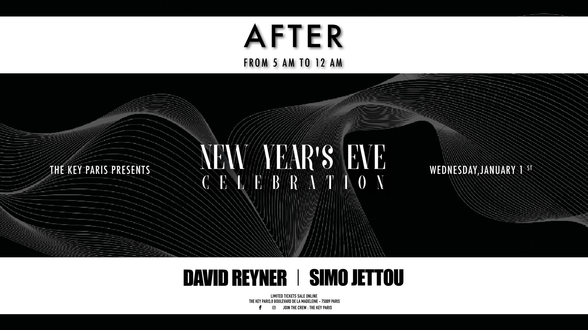 The Key Paris presents : New Year After Party