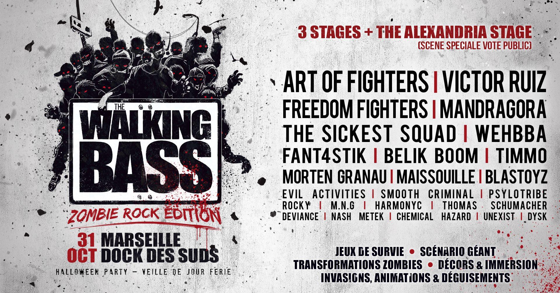 The Walking Bass Festival | Veille de Jour Férié