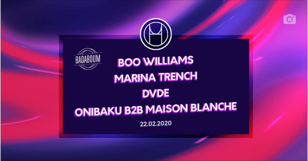 H.O.U first release party w/ Boo Williams & Marina Trench