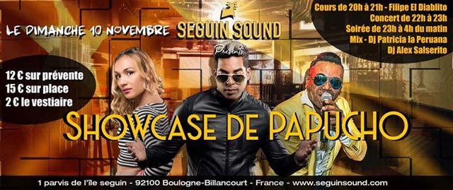 Seguin Sound Latino - Show Case de Papucho (Manana Club)