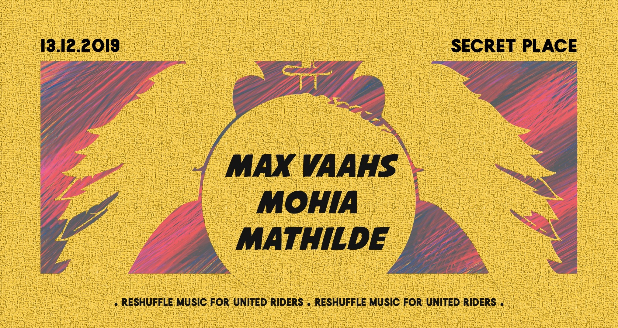 Reshuffle Music invite Max Vaahs, Mathilde & Mohia