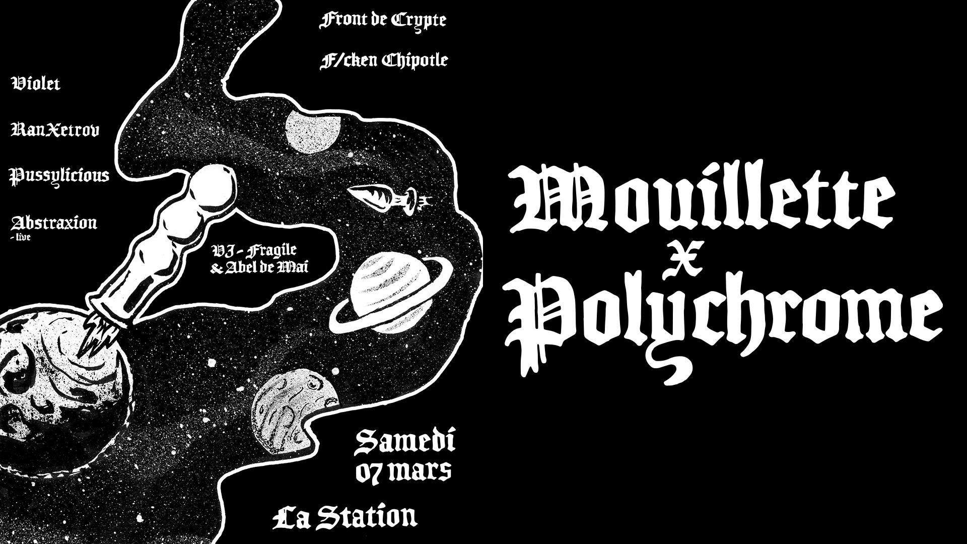 Mouillette x Polychrome x La Station