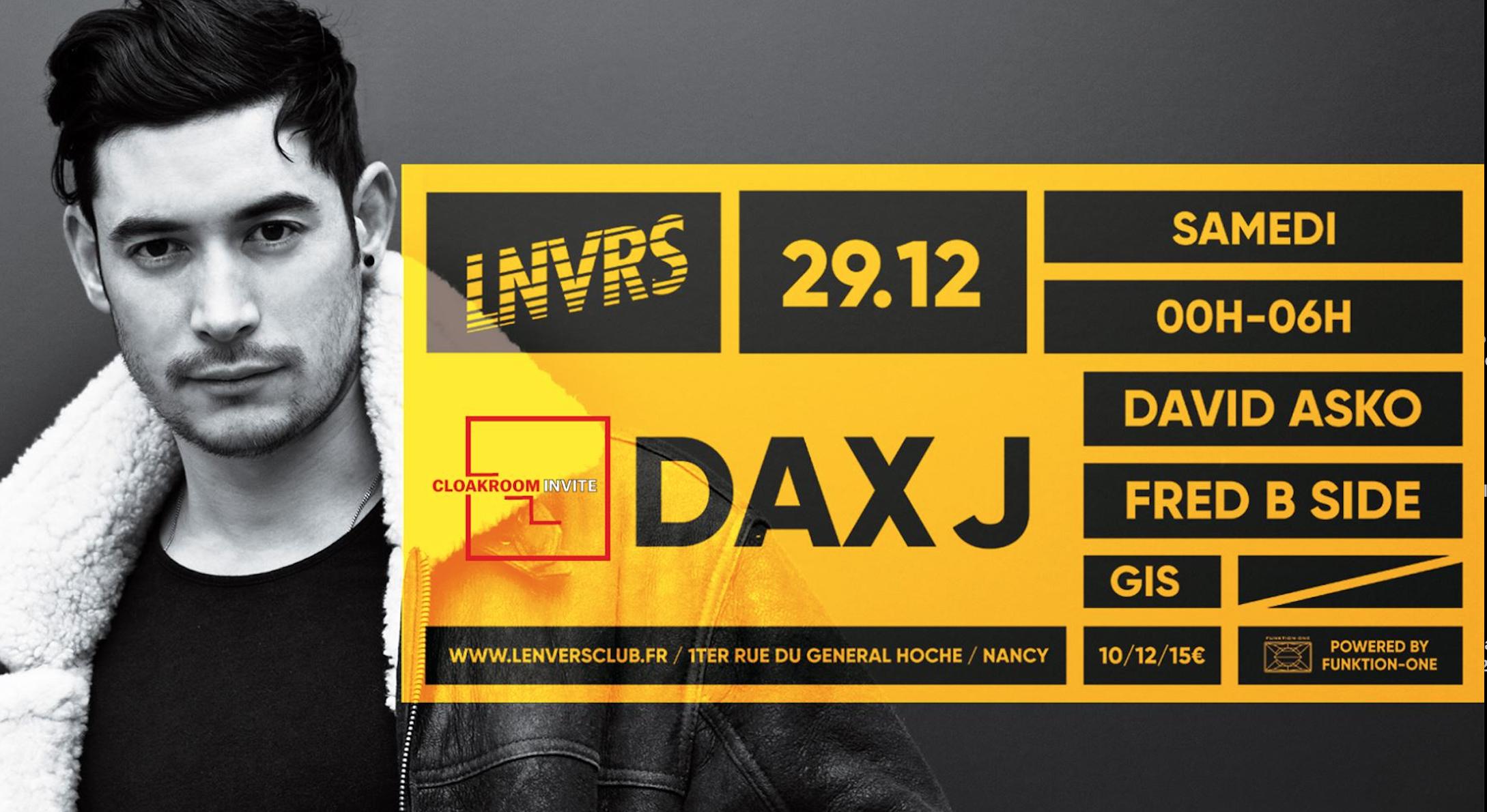 Cloakroom Invite Dax J