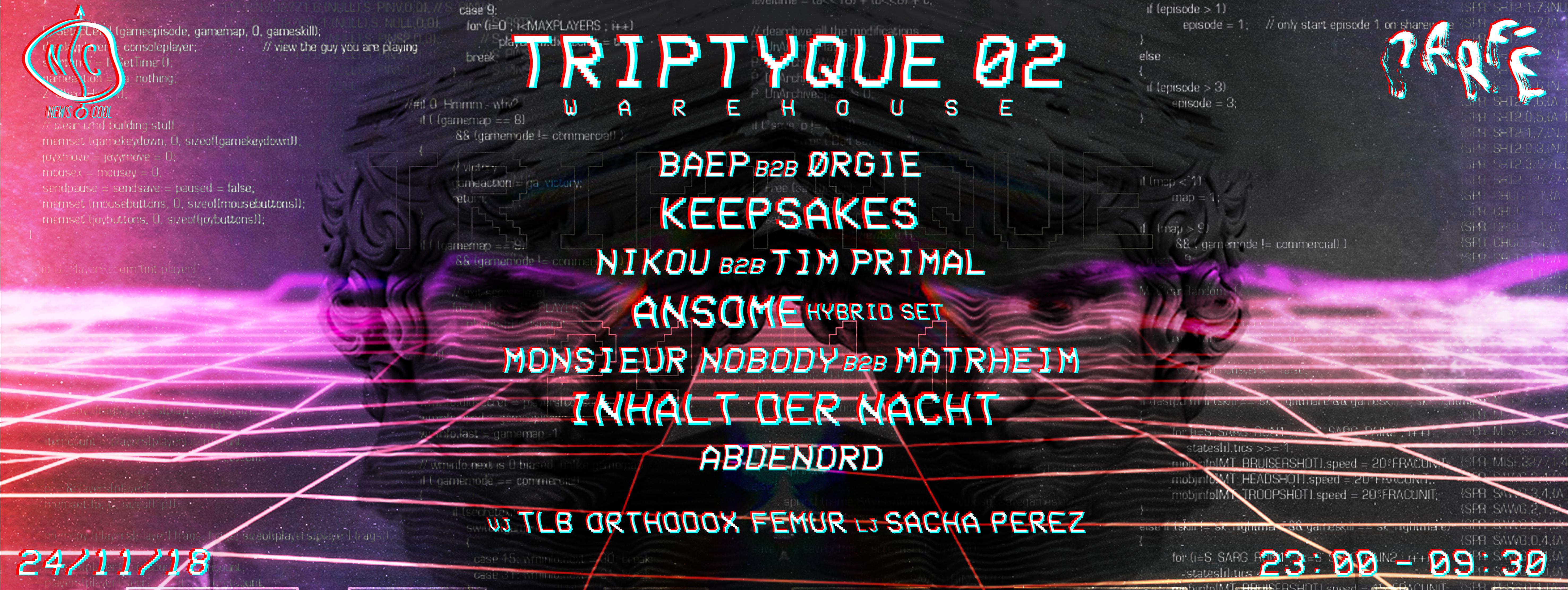 New's Cool x Parfé : TRIPTYQUE 02