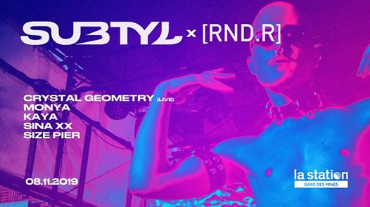 Subtyl x RND. ⏐ Crystal Geometry, Monya, Size Pier