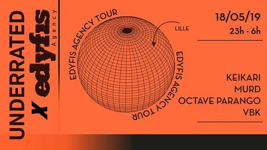 Underrated x Edyfis agency : Lille