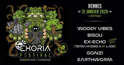 Exoria Festival | Dub to Trance (Rennes)