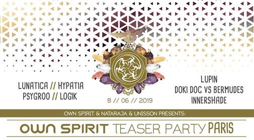 ॐ Own Spirit Festival - Paris Teaser Party ॐ