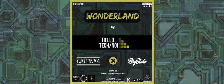 Wonderland By Hello Tech/No! - Catsinka x Bigstate x Rough