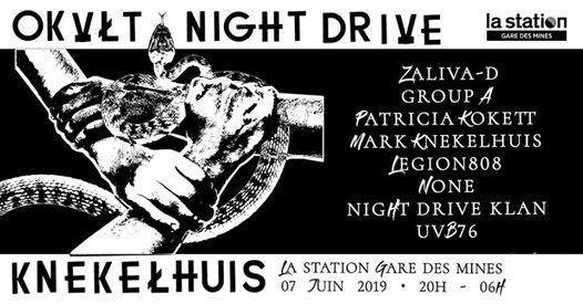 OKVLT & Night Drive invitent Knekelhuis à La Station