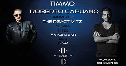 CLUB/ Timmo, Roberto Capuano, The Reactivitz