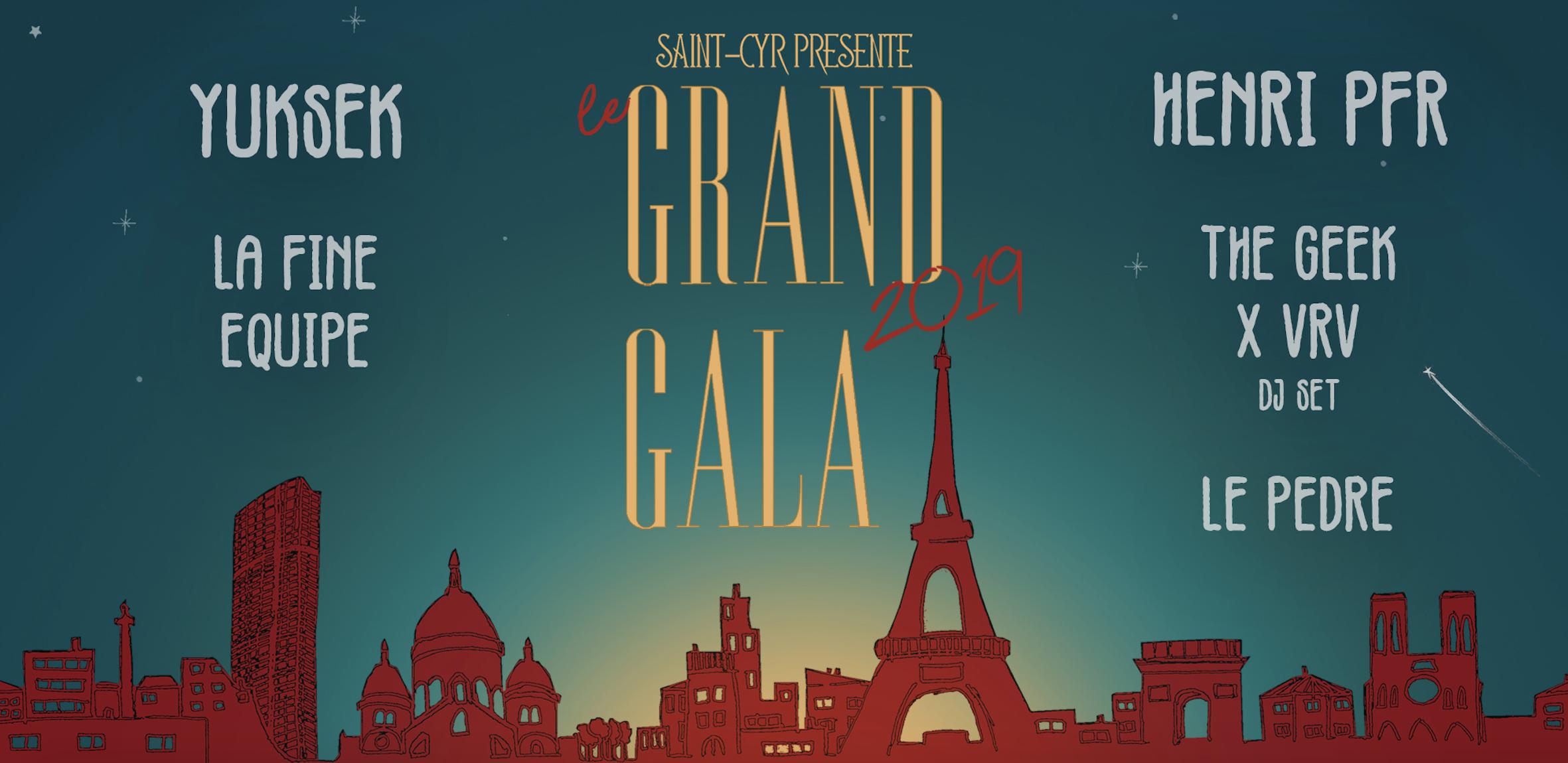 Billetterie Grand Gala de Saint-Cyr
