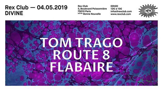 Divine: Tom Trago, Route 8, Flabaire