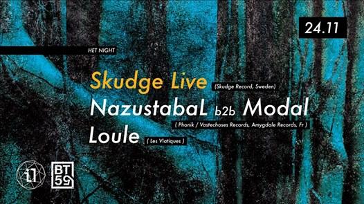 Het Night w/ Skudge (Live)