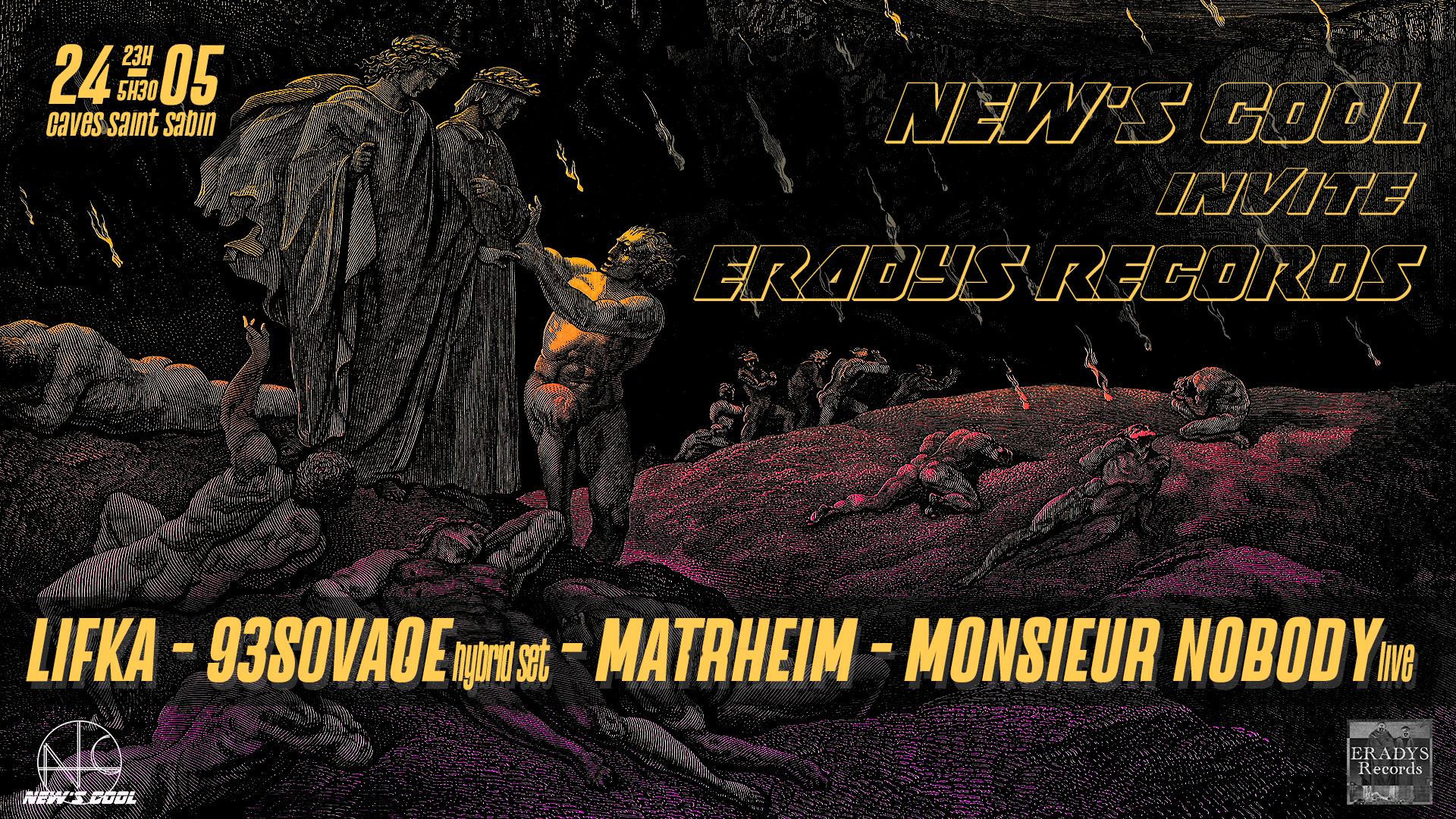 New's Cool invite Eradys Records