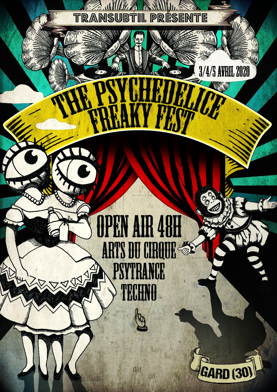 The Psychedelice Freaky Fest