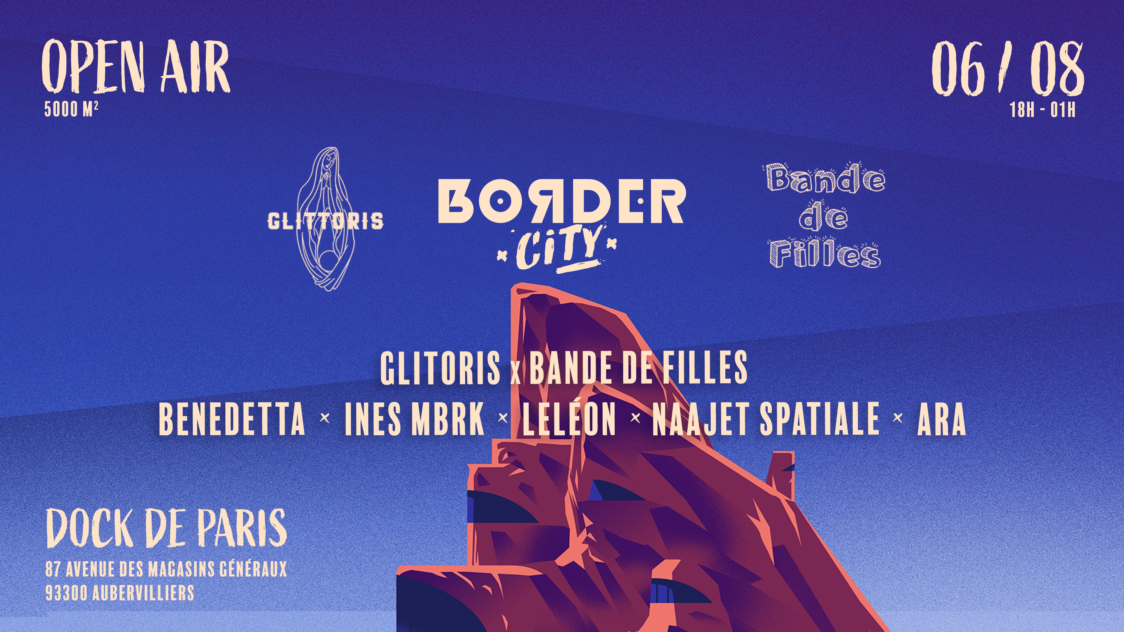 Border City x Glittoris x Bande de Filles