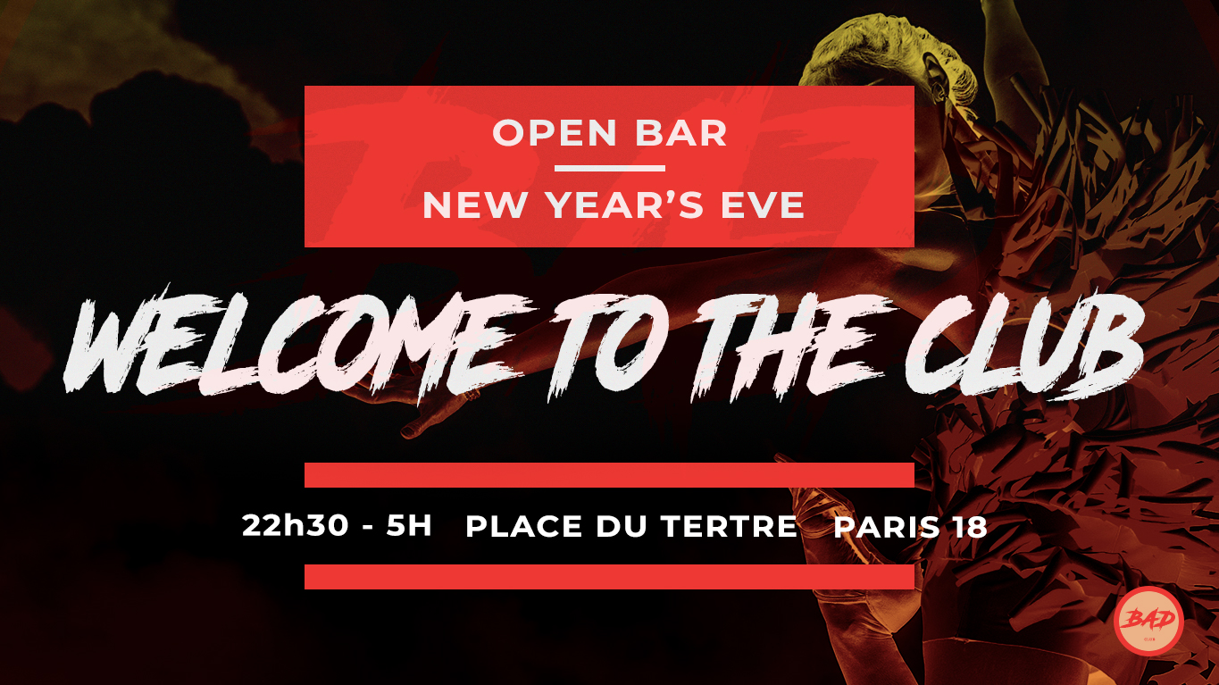 OPEN BAR // NEW YEARS EVE